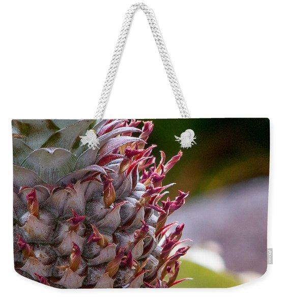 Baby White Pineapple Weekender Tote Bag