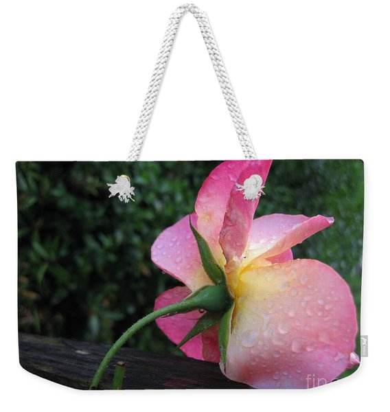 Back Of The Rose Weekender Tote Bag