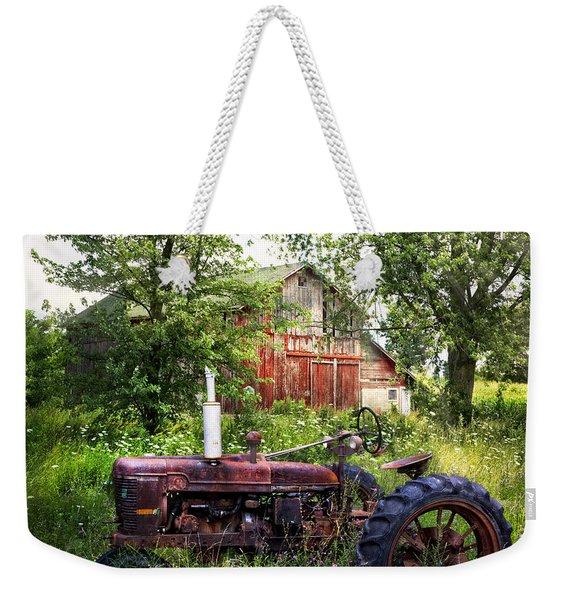 Back To Nature Weekender Tote Bag