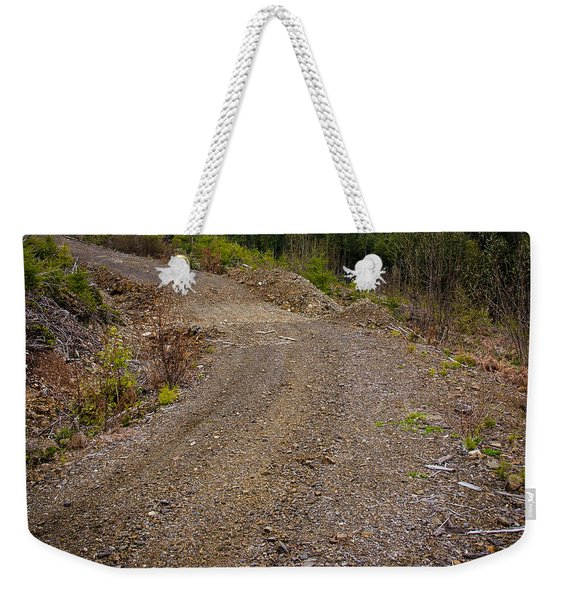 4x4 Logging Road To Adventure Weekender Tote Bag