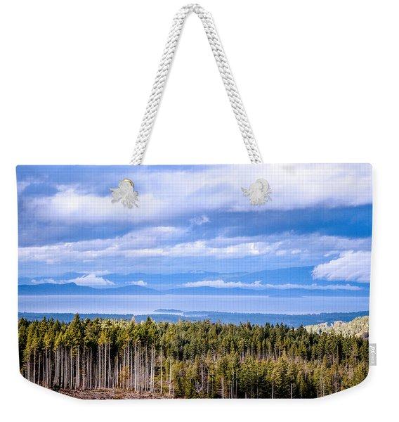 Johnstone Strait High Elevation View Weekender Tote Bag