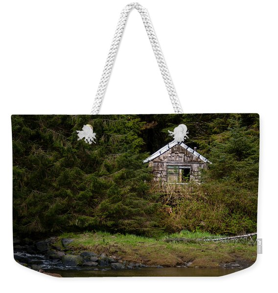 Backwoods Shack Weekender Tote Bag