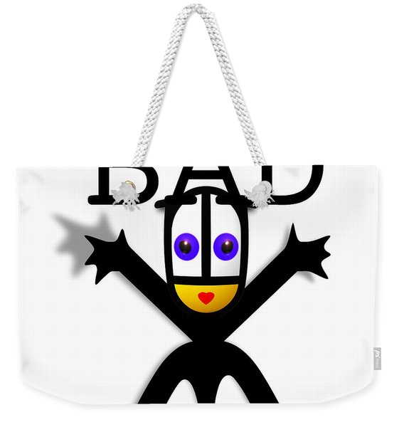 Bad Babe Weekender Tote Bag