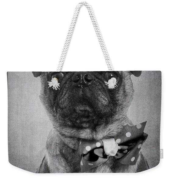 Bad Dog Weekender Tote Bag