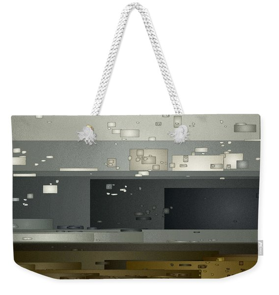 Bad Weather Weekender Tote Bag