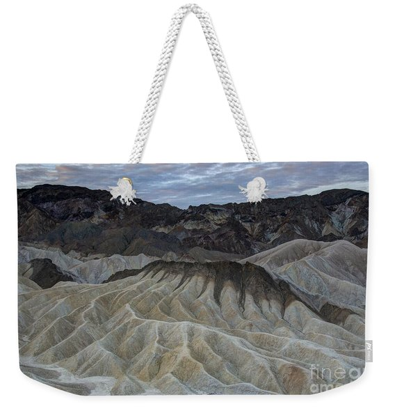 Badlands At Sunrise. Death Valley Weekender Tote Bag