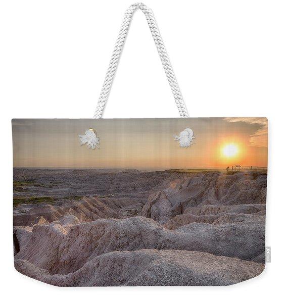 Badlands Overlook Sunset Weekender Tote Bag