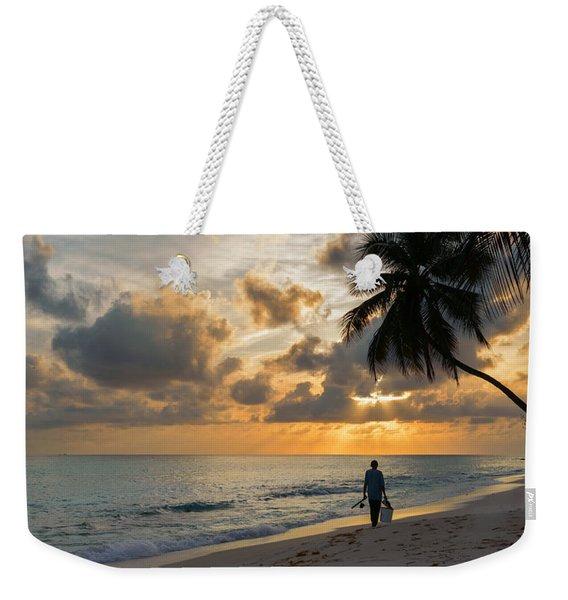 Bajan Fisherman Weekender Tote Bag
