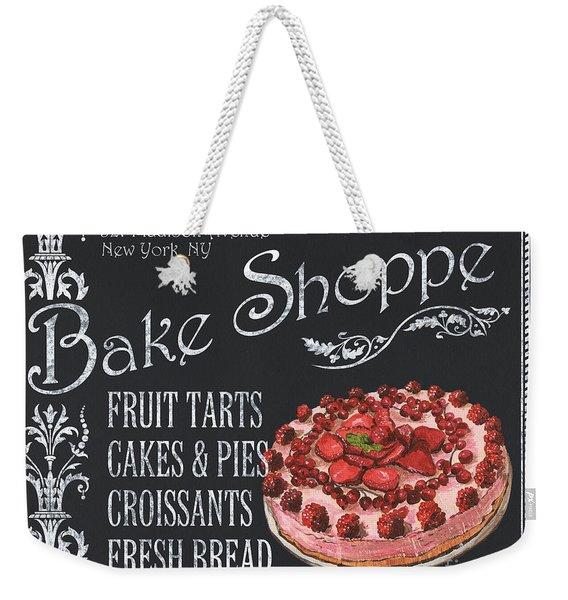 Bake Shoppe Weekender Tote Bag