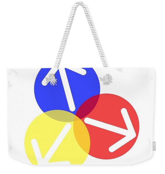 Ball Arrows Weekender Tote Bag
