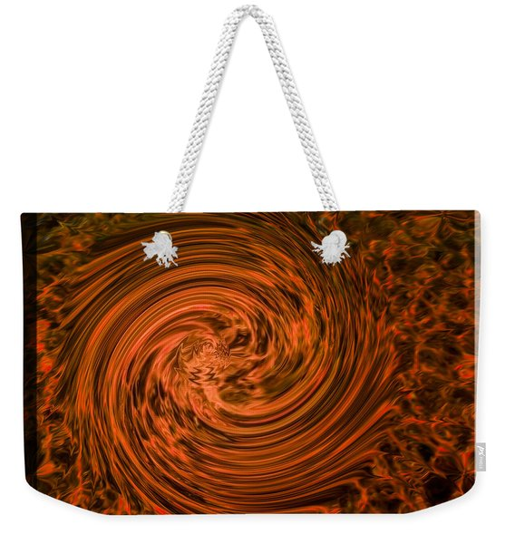Ball Of Fire Weekender Tote Bag