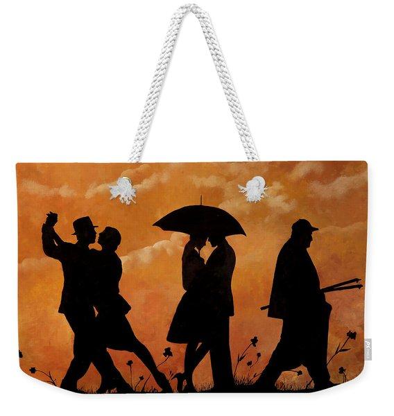 Ballando E Altro Weekender Tote Bag