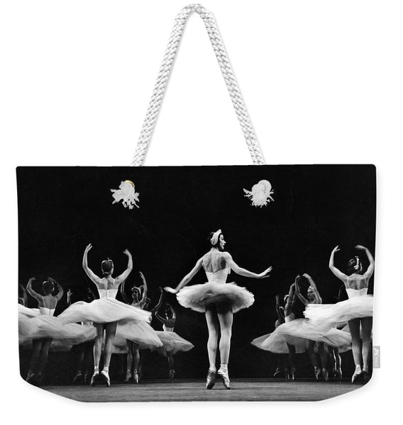 Ballerina Margot Fonteyn Weekender Tote Bag