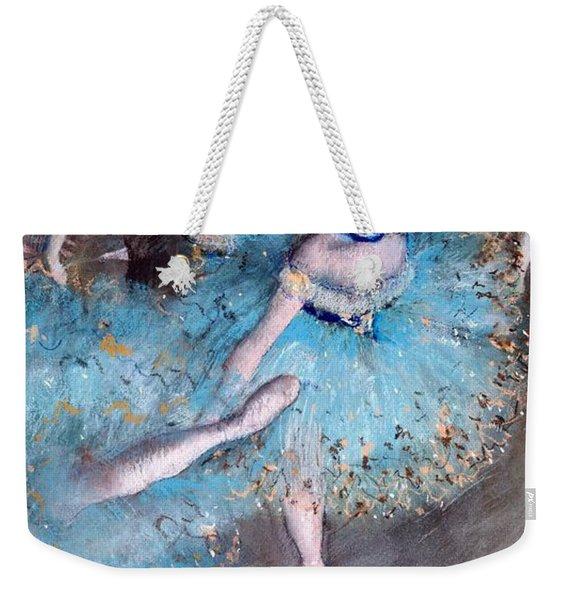 Ballerina On Pointe  Weekender Tote Bag