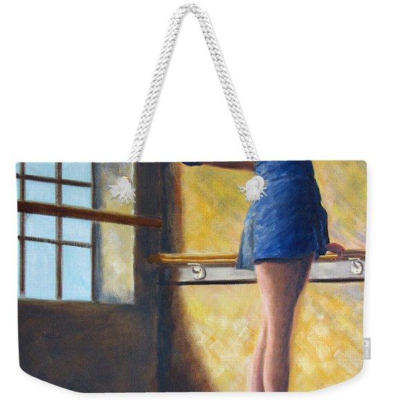 Ballet Dancer Warm Up Weekender Tote Bag