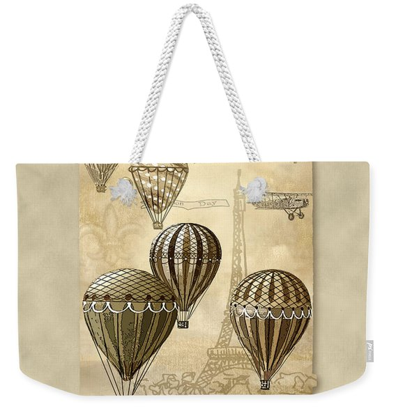 Balloons With Sepia Weekender Tote Bag