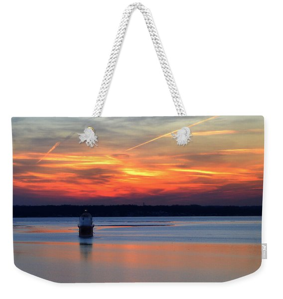 Baltimore Light At Gibson Island Weekender Tote Bag