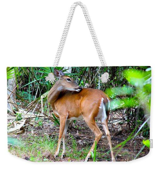 Bambi In The Brush Weekender Tote Bag