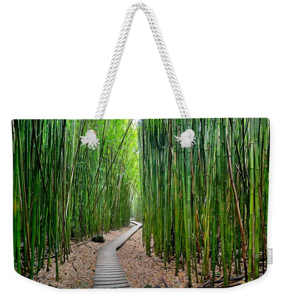 Bamboo Brilliance Weekender Tote Bag
