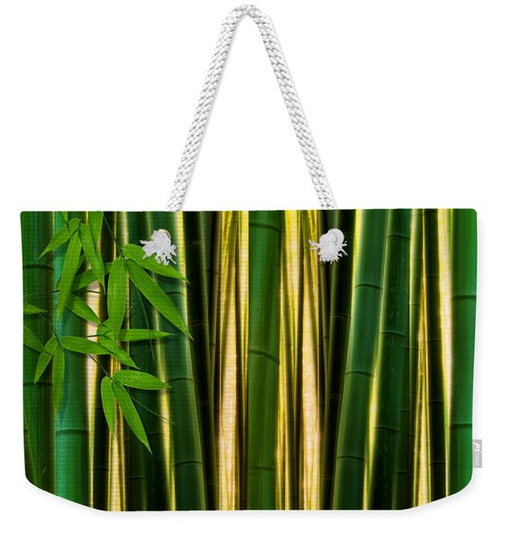 Bamboo Forest- Bamboo Artwork Weekender Tote Bag