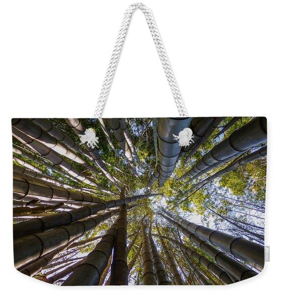 Bamboo Jungle Weekender Tote Bag