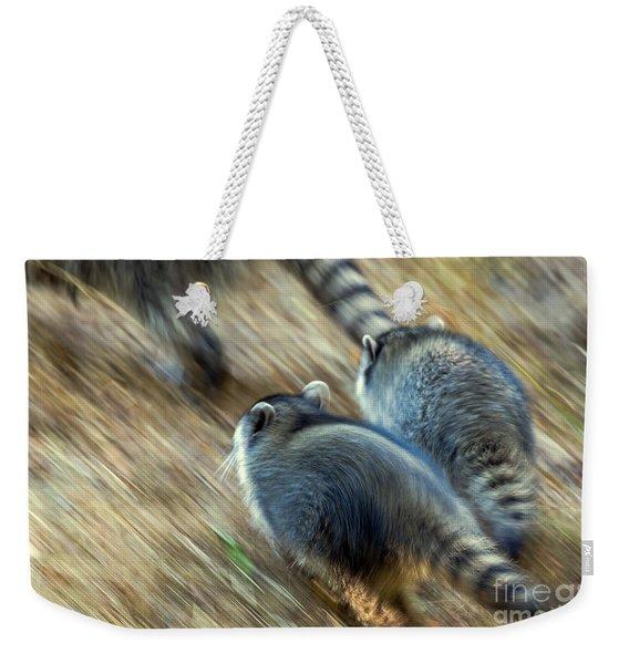 Bandits On The Run Weekender Tote Bag