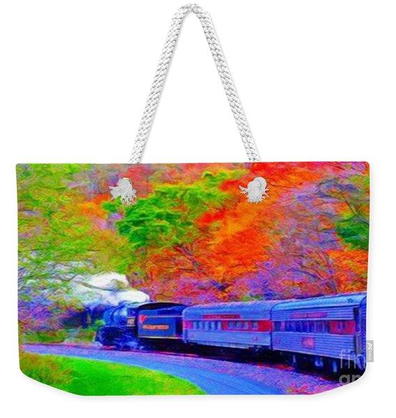 Bang Bang Choo Choo Train-a Dreamy Version Collection Weekender Tote Bag