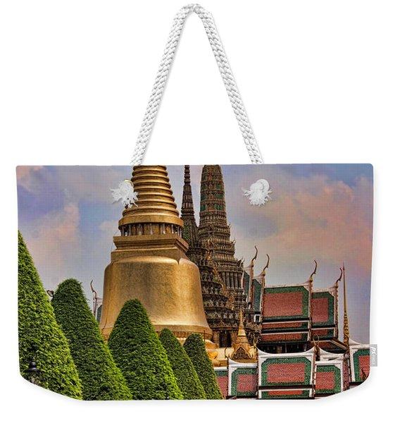 Bangkok Palace Temple 3 Weekender Tote Bag