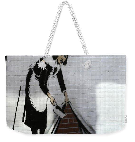 Banksy Maid Weekender Tote Bag