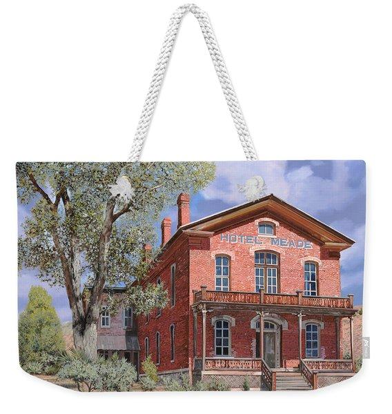 Bannock-montana-hotel Meade Weekender Tote Bag