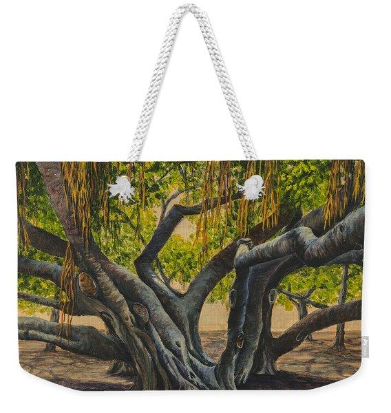 Banyan Tree Maui Weekender Tote Bag