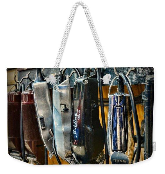 Barber -  Hair Clippers Weekender Tote Bag