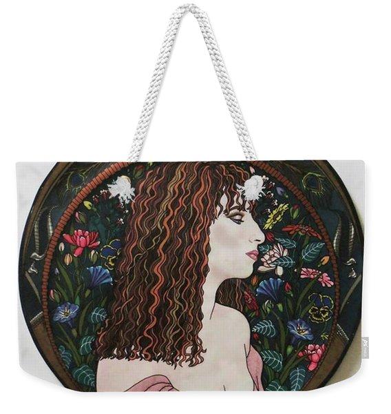 Barbra's Garden Weekender Tote Bag