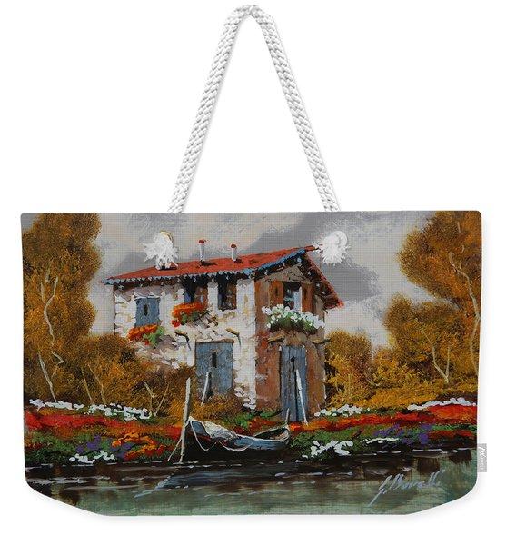 Barca Al Molo Weekender Tote Bag