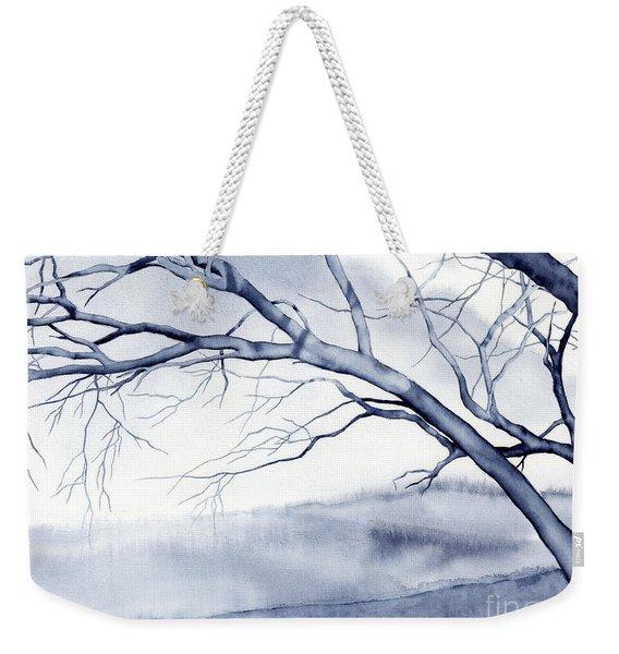 Bare Trees Weekender Tote Bag