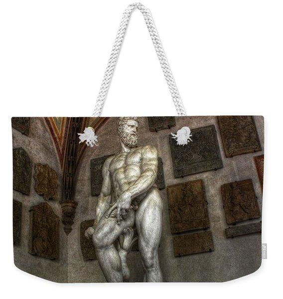 Giambologna's Oceano Weekender Tote Bag