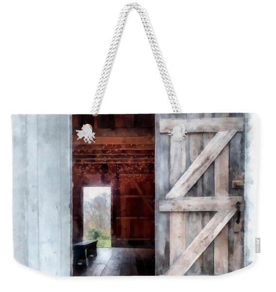 Barn Dance Weekender Tote Bag