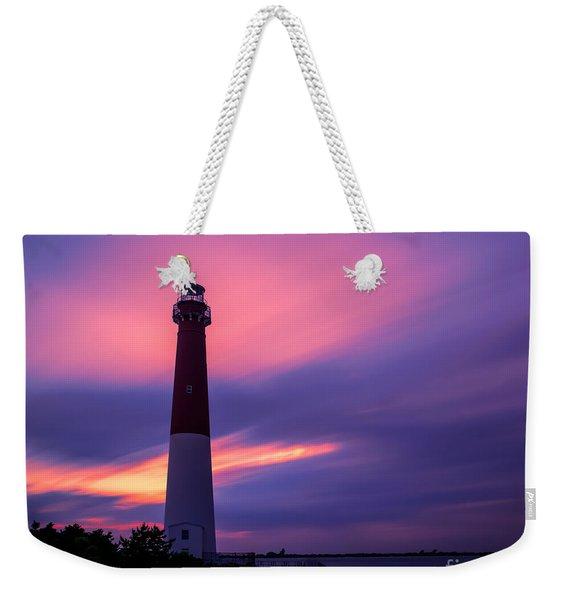Barnegat Sunset Le Weekender Tote Bag