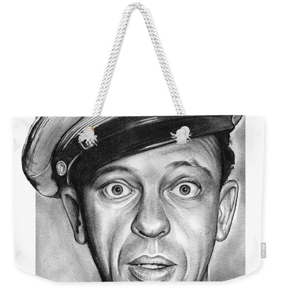 Barney Fife Weekender Tote Bag