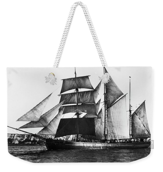 Barquentine, 1871 Weekender Tote Bag