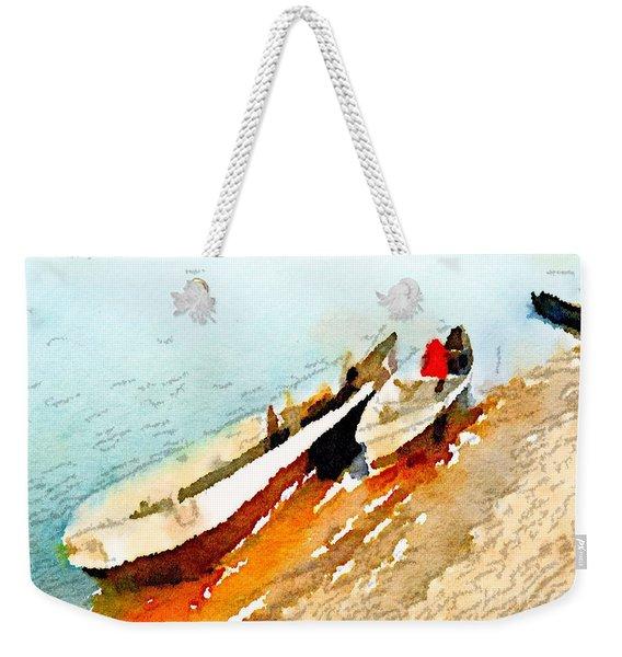 Barques Sur Le Chari Weekender Tote Bag