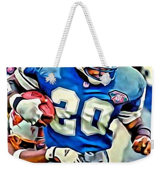 Barry Sanders Weekender Tote Bag