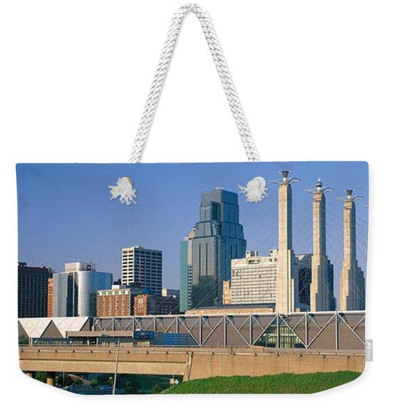 Bartle Hall Kansas City Mo Weekender Tote Bag