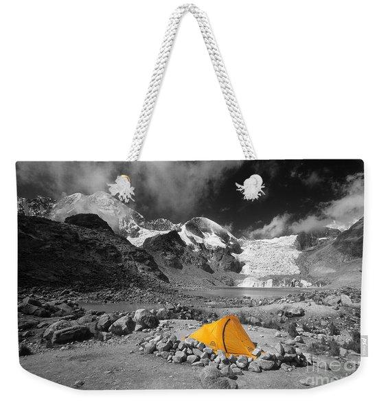 Base Camp Weekender Tote Bag