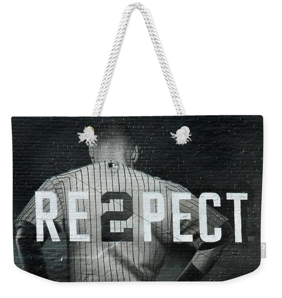 Baseball With Jeter Weekender Tote Bag