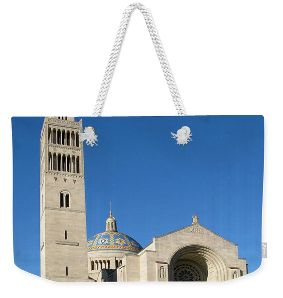 Basilica In Washington Dc Weekender Tote Bag