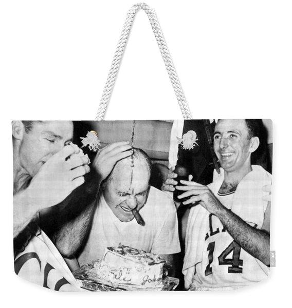 Basketball Champion Celtics Weekender Tote Bag