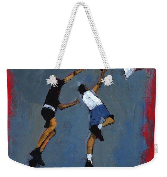 Basketball Players Weekender Tote Bag