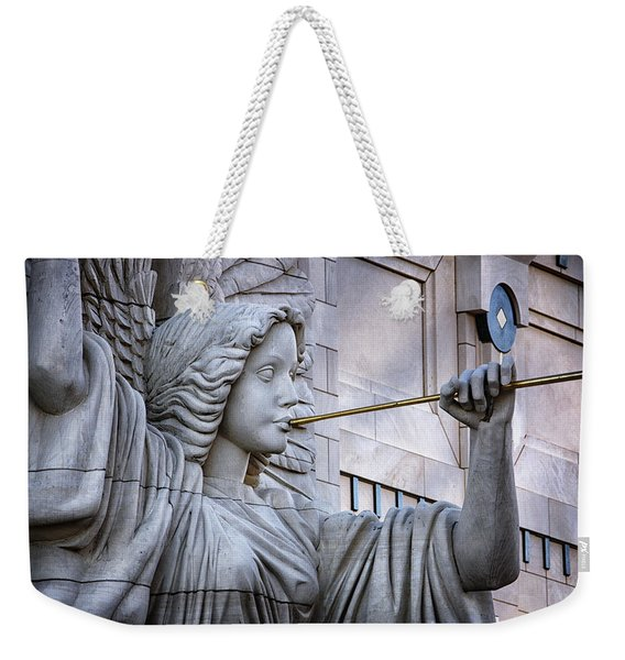 Bass Hall Angel Weekender Tote Bag