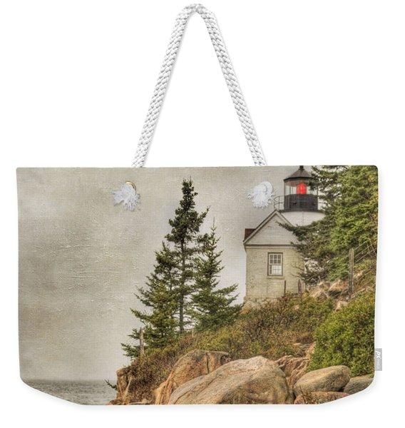 Bass Harbor Head Lighthouse. Acadia National Park Weekender Tote Bag